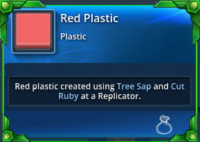 Red-plastic