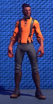 Treasure Seekers Garb Orange male