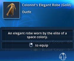 Colonists-elegant-robe-gold