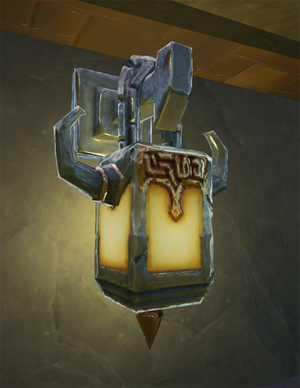 Wall-lantern