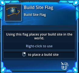 Build-site-flag