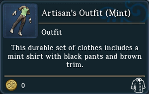 Artisans Outfit Mint examine