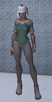 Artisans Outfit Emerald Equip