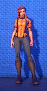 Treasure Seekers Garb Orange female