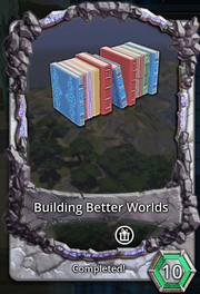 Building better worlds