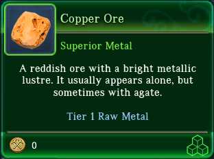 Copper Ore TT