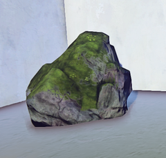 Large Mossy Old Growth Rock 1 prop placed