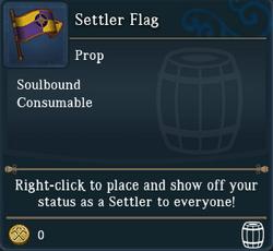 Settler Flag