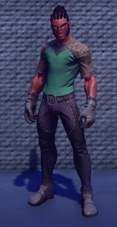 Artisans-outfit-green male