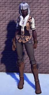 Pathfinders Gear Tan equipped