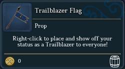 Trailblazer Flag (tooltip)