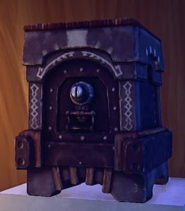 Landmark Rustic Stone Vault prop placed