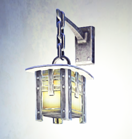 Landmark Small Wall Sconce placed.