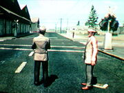 Railroad crossing L.A. Noire