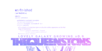 Lovely Galaxy Growing v0.9