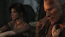 Lara Croft and Conrad Roth