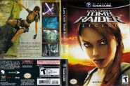 Tomb Raider Legend USA COVER GameCube