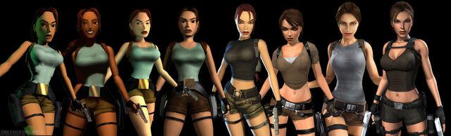 File:Many changes of Lara Croft.jpg