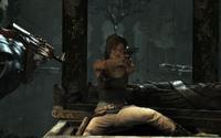 Lara surrounded
