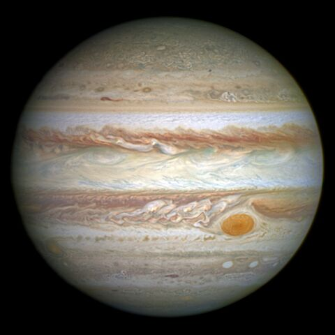 File:Jupiter and its shrunken Great Red Spot.jpg