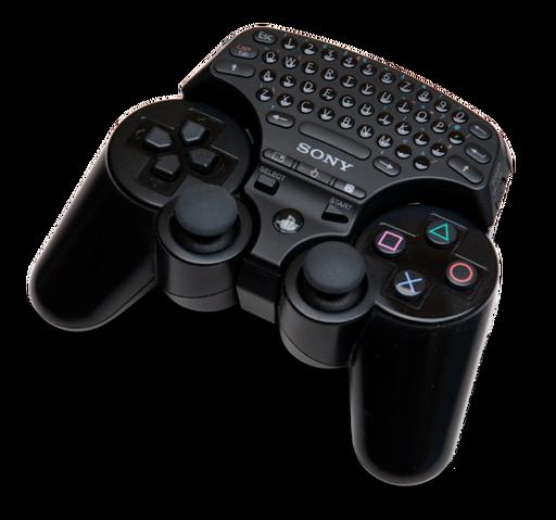 File:PlayStation 3 Wireless Keypad.png