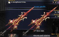 Oriax dominus