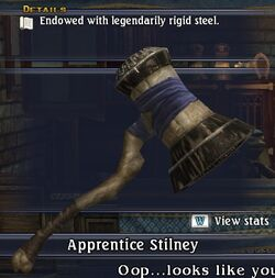 Damascene Sledgehammer