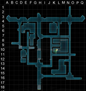 Mojcado castle gateway section grid