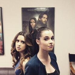 Laura and Vanessa