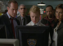 SVU Detectives and CSU Stuckey Zebra