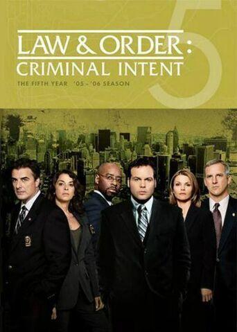 File:Law & Order Criminal Intent (Season 5) (2005-2006).jpg