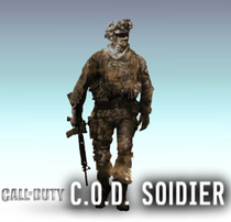 CoDSoldier SSBLE Logo