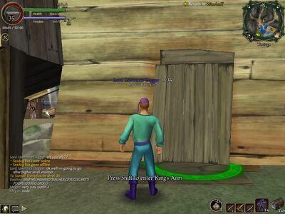 Secret Door Glitch