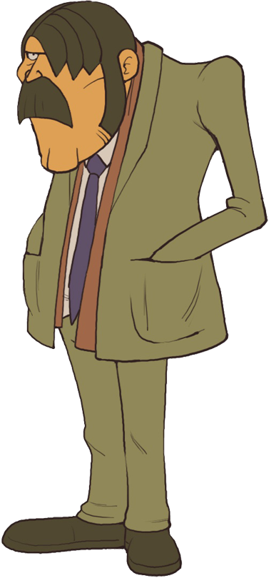 Inspector Chelmey | Professor Layton Wiki | Fandom powered
