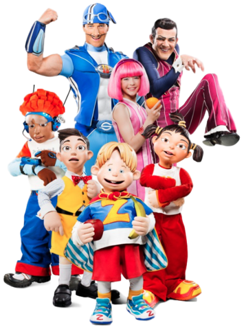 File:Nick Jr. LazyTown Characters Cast Main.png