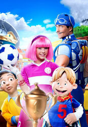 Nick Jr. LazyTown - The Lazy Cup Promo Image