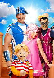 Nick Jr. LazyTown - The First Day of Summer Promo Image