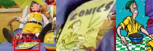 Nick Jr. LazyTown Jives Maggi Mjói on Comic Book