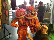 Nick Jr. LazyTown Pixel and Stephanie 13 - Behind the Scenes