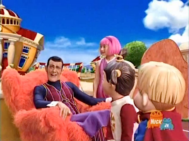 File:Nick Jr. LazyTown - Characters Cast in Record's Day (Records Day).png