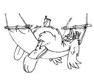 Nick Jr. LazyTown Haninn the Rooster Sketch
