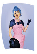 Nick Jr. LazyTown - Bessie Busybody Magazine Back