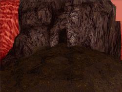 Volcano Cave Outside