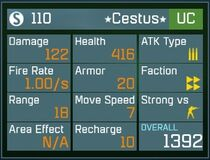 Cestus UC Lv1 Back