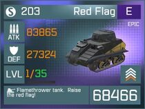 Red Flag E Lv1 Front
