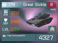 Great Sickle R Lv1 Front