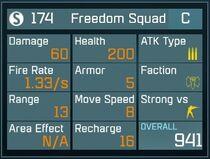 Freedom Squad C Lv1 Back