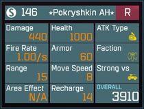 Pokryshkin AH R Lv1 Back