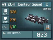 Centaur Squad C Front