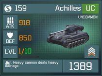 Achilles UC Lv1 Front